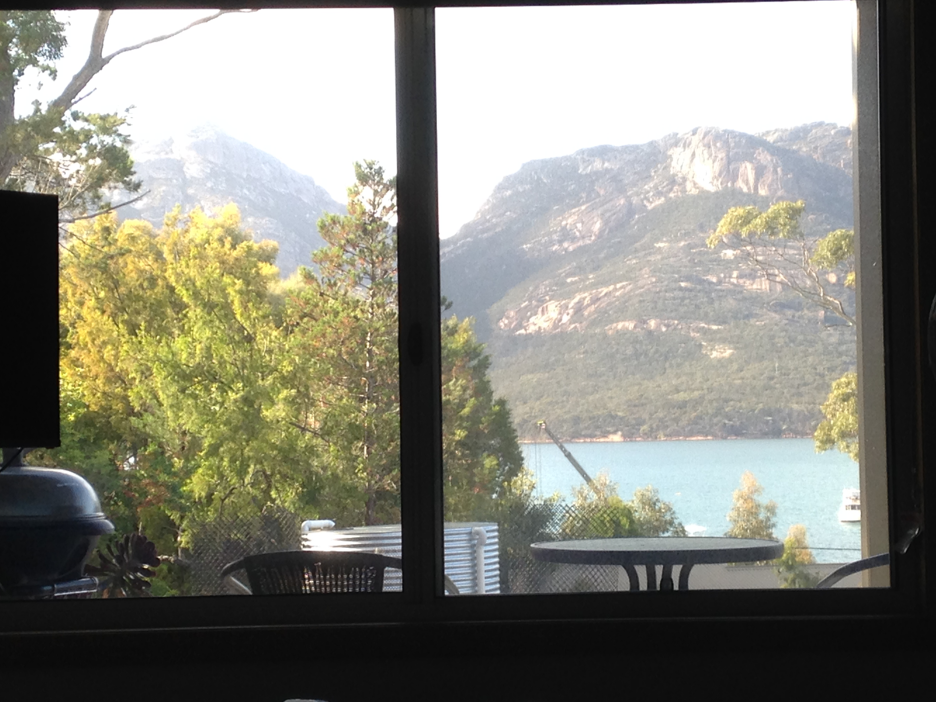 Coles Bay from Bed